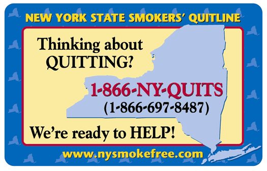 New York Smoke Free website